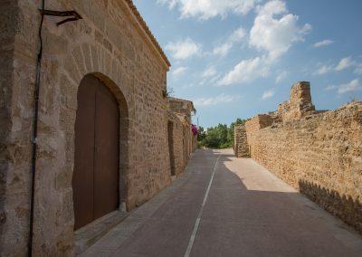 Alcúdia - Innerhalb der Stadtmauer im Osten Mallorca