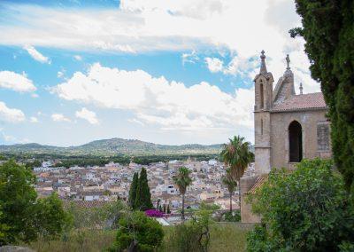 Arta - Blick über die Dächer Mallorca