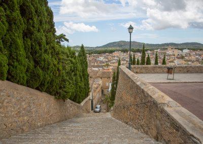 Arta - Blick von der Kirche Transfiguració del Senyor auf die Stadt Mallorca