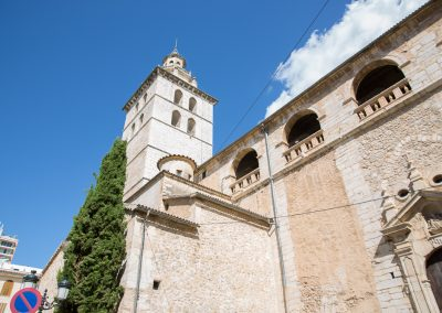 Inca - Die Pfarrkirche Santa Maria la Major d'Inca Mallorca