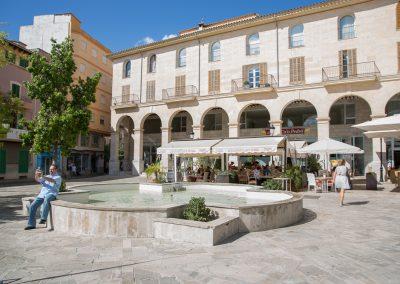 Inca - Der Rathausplatz Ayuntamiento De Inca Mallorca