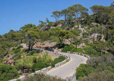 Mirador de la Victoria - Auf dem Weg Mallorca
