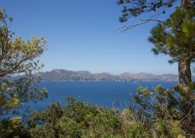 Mirador de la Victoria - Blick von oben Mallorca