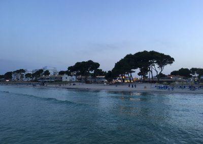 Mallorca - Playa de Muro in der Abendstimmung