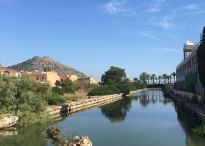Port d'Alcudia auf dem Weg zu Europca - Mallorca