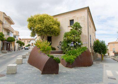 Santa Margalida - dahinter verbirgt sich ein Restaurant Mallorca