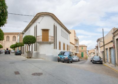 Santa Margalida - auf dem Weg zur Kirche Mallorca