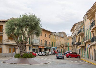 Santa Margalida - und wieder zurück zum Dorfplatz Mallorca