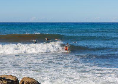 Son Serra de Marina - Surfer bei der Arbeit Mallorca