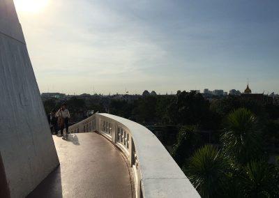 Bangkok - Golden Mount Wat Saket - Weg nach oben