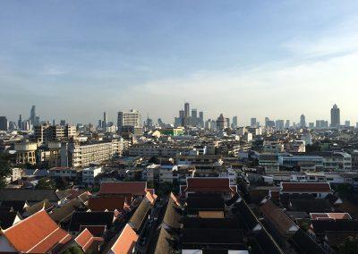 Bangkok - Golden Mount Wat Saket - Blick von oben