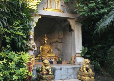 Bangkok - Golden Mount Wat Saket - Weg nach unten