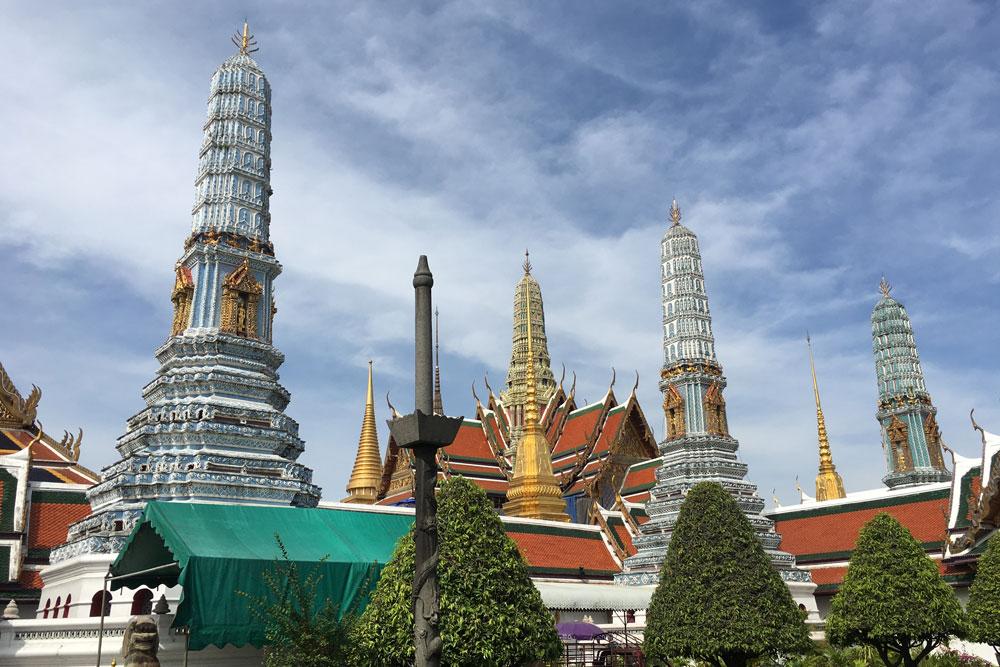 Reisen und Arbeiten: Von Bangkok nach Goa