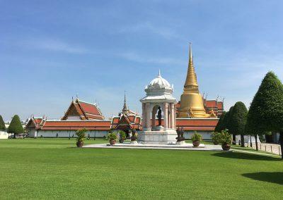 Bangkok - Grand Palace vom äußeren Hof