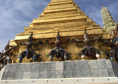 Bangkok - Grand Palace Chedi Details