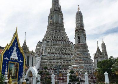 Bangkok - Wat Arun - Komplettansicht