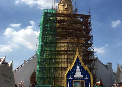 Bangkok - Wat Intharawihan - 32 m hohe Buddha-Statue