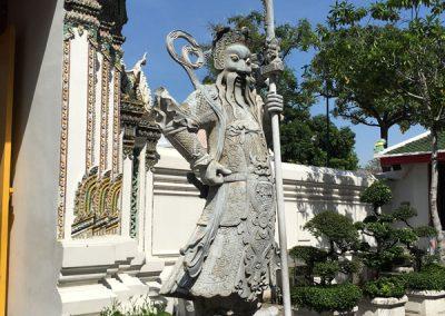 Bangkok - Wat Pho Eingangsbereich
