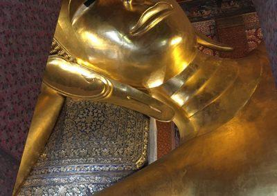 Bangkok - Wat Pho Liegender Buddha