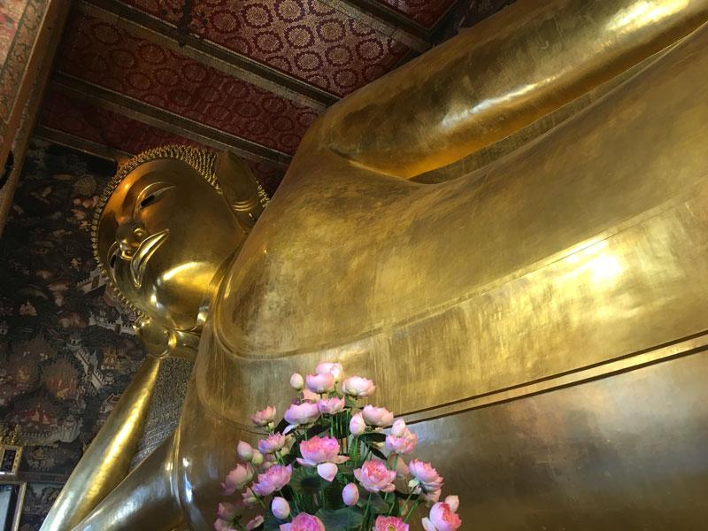 Wat Pho – Tempel des liegenden Buddha