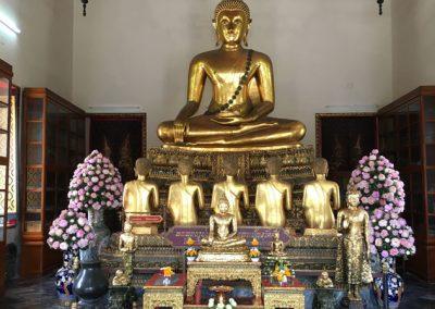 Bangkok - Wat Pho Buddha-Statue