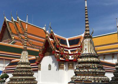 Bangkok - Wat Pho Chedis