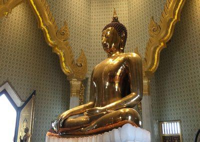 Bangkok - Wat Traimit - Goldene Buddha-Statue