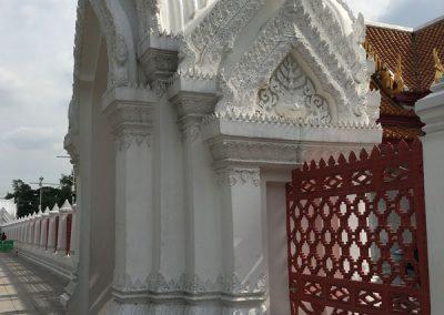 Bangkok - Wat Benchamabopitr aussen