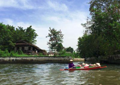 Bangkok – Khlong-Tour mit dem Longtailboat – Schwimmende Verkaufsstände