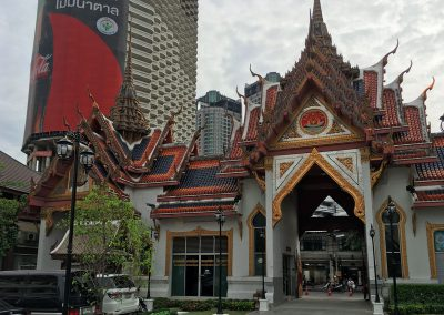 Bangkok – Wat Yannawa Eingang
