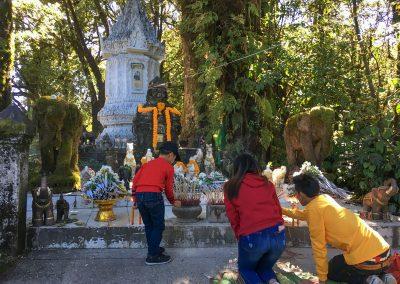 Chiang Mai - Doi Inthanon - höchster Punkt mit 2.565 m