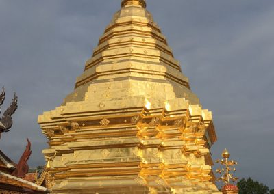 Chiang Mai - Wat Phra That Doi Suthep - Goldene Chedi