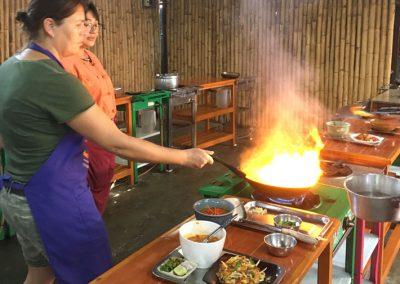 Chiang Mai - Kochkurs - Ich beim Kochen