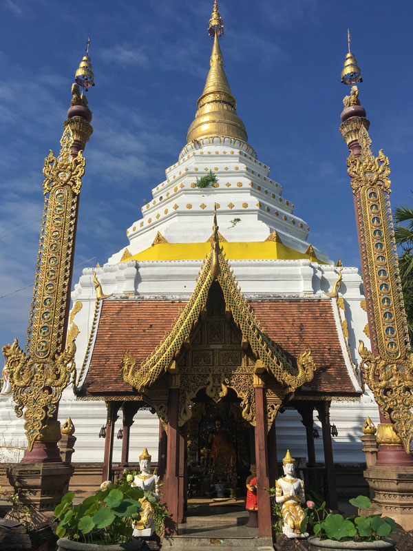 Chiang Mai - Wat Chiang Yuen - Eingang