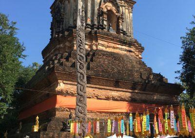 Chiang Mai - Wat Lok Molee - Chedi