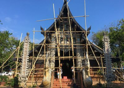 Chiang Mai - Wat Lok Molee - Eingang zur Gebetshalle