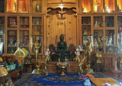 Chiang Mai - Wat Lok Molee - Buddha-Statue
