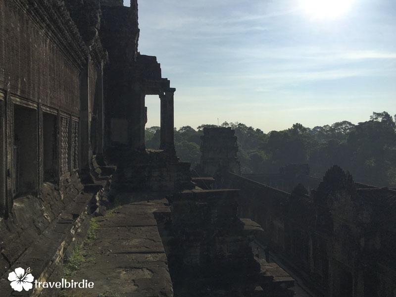 Siem Reap - Angkor Wat - Blick von oben