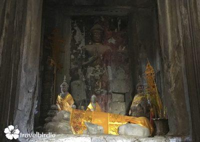 Siem Reap - Angkor Wat - Buddha-Statuen