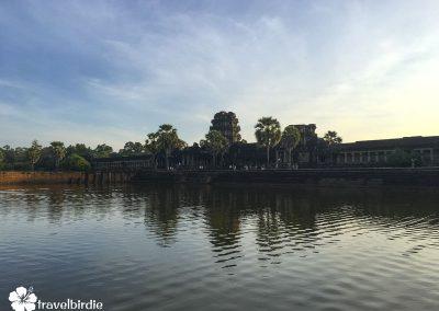 Siem Reap - Angkor Wat Eingang