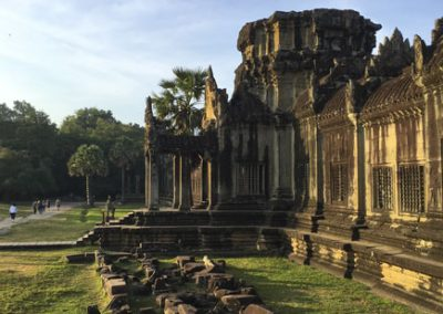 Siem Reap - Angkor Wat - Eingangsbereich innen