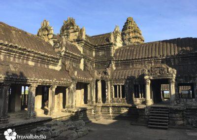 Siem Reap - Angkor Wat - Innenhof des Tempels