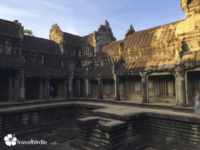 Siem Reap - Angkor Wat - Tempel innen