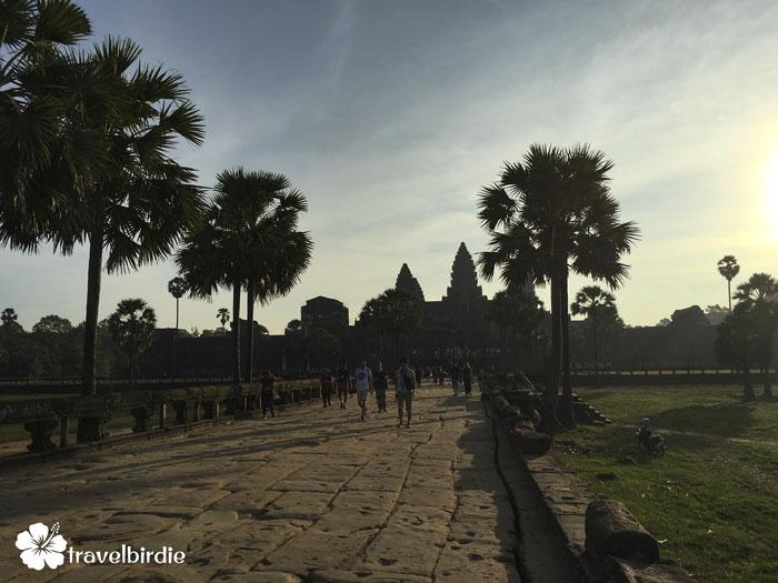 Siem Reap - Angkor Wat - Weg zum Inneren des Tempels