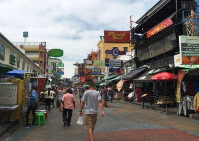 Bangkok – Khaosan Road am Tag