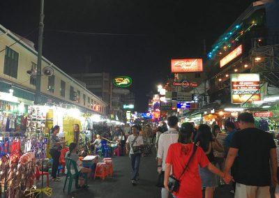 Bangkok – Khaosan Road bei Nacht