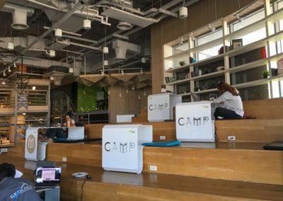 Chiang Mai - Coworking Space im Maya Einkaufszentrum