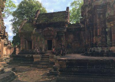 Angkor - Banteay Srei - Innenhof