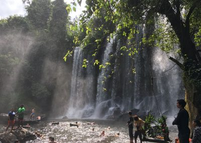 Siem Reap - Wasserfall am Kulen Mountain