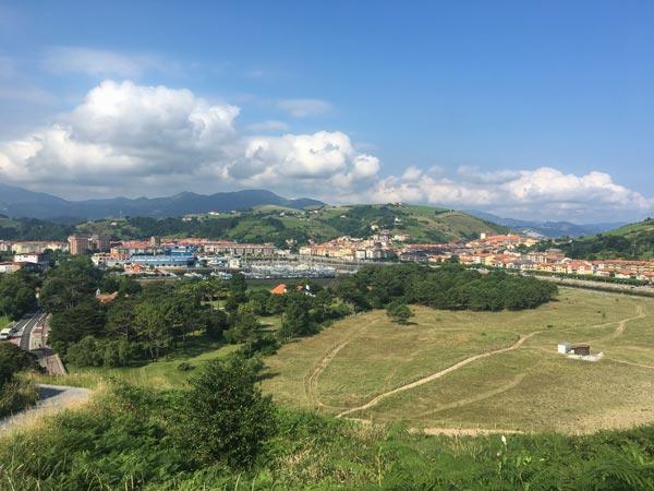 Camino del Norte - Von Zarautz nach Zumaia - Blick auf Zumaia